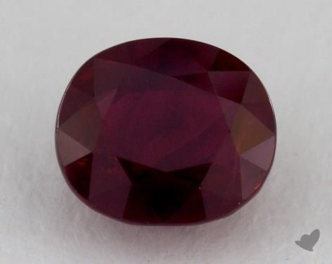 <b>1.56</b> carat Oval Natural Ruby