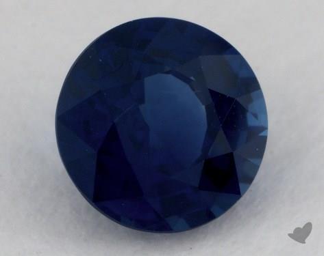 <b>1.24</b> carat Round Natural Blue Sapphire