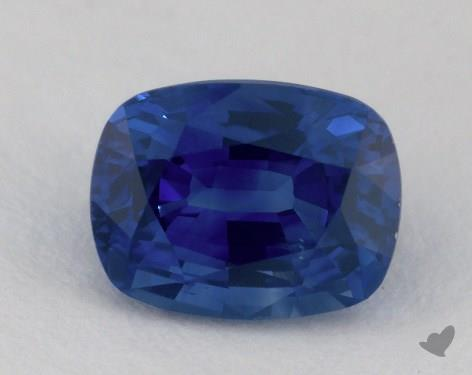 <b>1.38</b> carat Cushion Natural Blue Sapphire