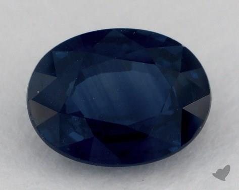 <b>1.38</b> carat Oval Natural Blue Sapphire