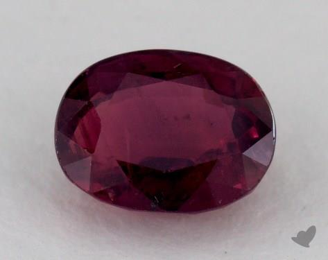 <b>1.64</b> carat Oval Natural Ruby