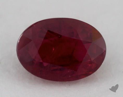<b>2.25</b> carat Oval Natural Ruby