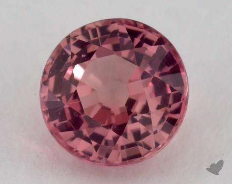 <b>1.04</b> carat Round Natural Pink Sapphire