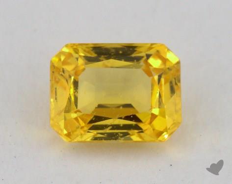 <b>1.09</b> carat Emerald Natural Yellow Sapphire