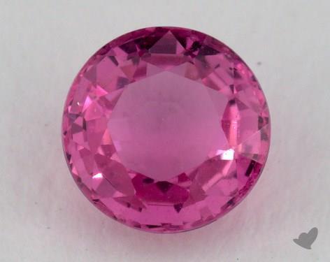 <b>0.91</b> carat Round Natural Pink Sapphire
