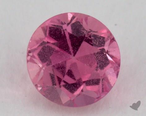 <b>1.03</b> carat Round Natural Pink Sapphire