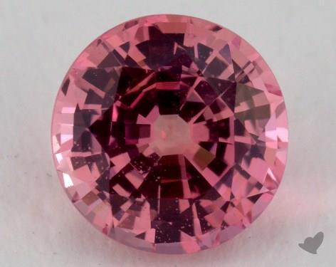 <b>1.27</b> carat Round Natural Pink Sapphire