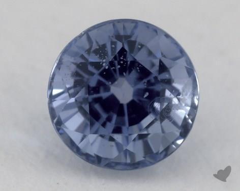 <b>1.23</b> carat Round Natural Blue Sapphire