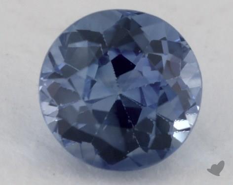 <b>1.16</b> carat Round Natural Blue Sapphire