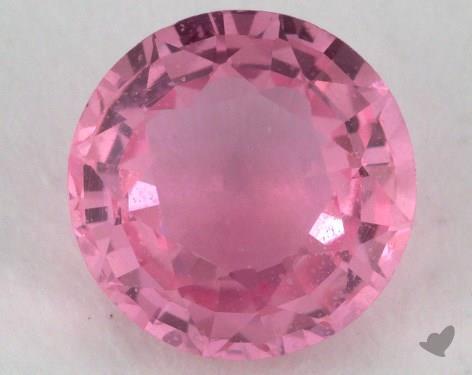 <b>1.26</b> carat Round Natural Pink Sapphire