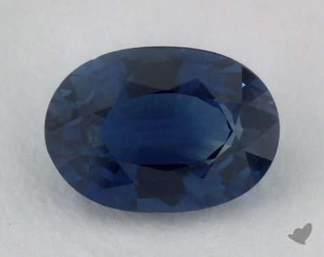 <b>1.04</b> carat Oval Natural Blue Sapphire