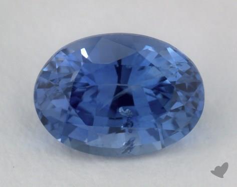 <b>1.10</b> carat Oval Natural Blue Sapphire