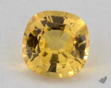 <b>1.15</b> carat Cushion Natural Yellow Sapphire