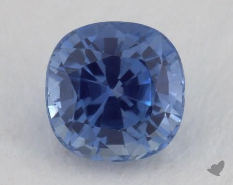 <b>1.06</b> carat Cushion Natural Blue Sapphire