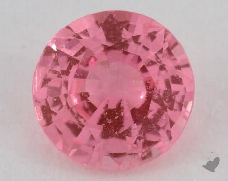 <b>0.83</b> carat Round Natural Pink Sapphire