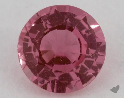 <b>1.07</b> carat Round Natural Pink Sapphire