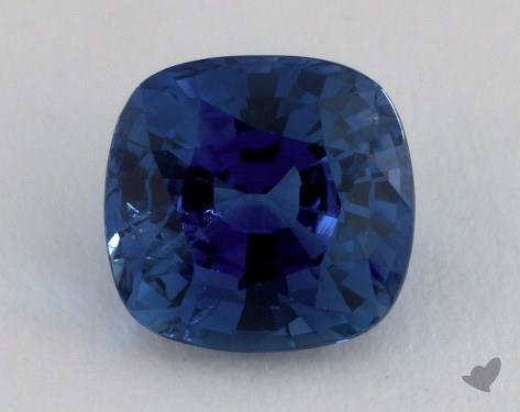 <b>3.66</b> carat Cushion Natural Blue Sapphire