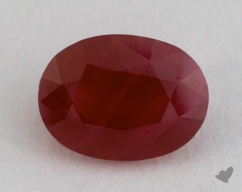 <b>1.69</b> carat Oval Natural Ruby
