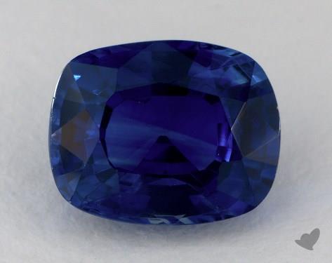 <b>2.63</b> carat Cushion Natural Blue Sapphire