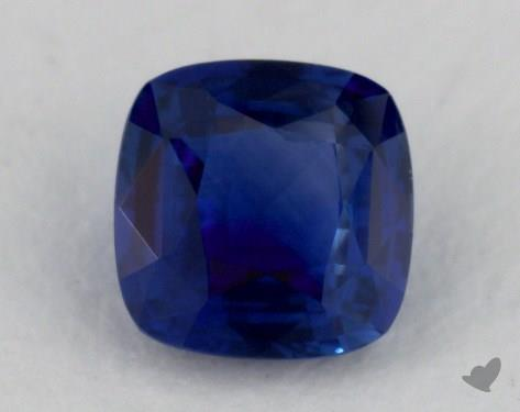 <b>0.70</b> carat Cushion Natural Blue Sapphire