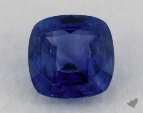 <b>0.74</b> carat Cushion Natural Blue Sapphire