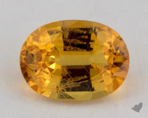 <b>1.47</b> carat Oval Natural Yellow Sapphire