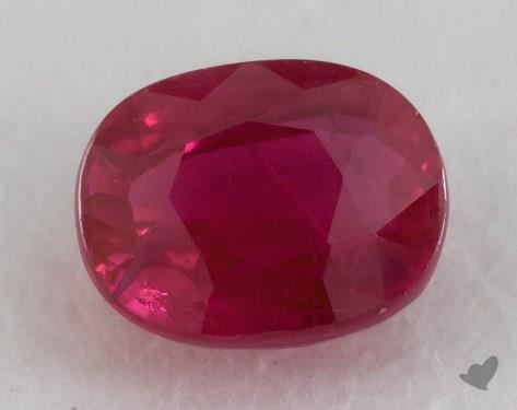 <b>1.03</b> carat Oval Natural Ruby