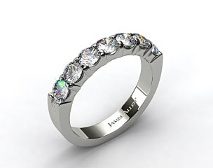 Platinum  1.50ctw Common Prong Diamond Anniversary Ring