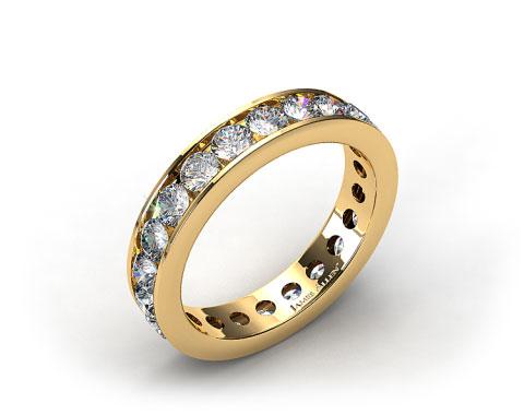 Ladies 2.00ctw* Milgrain Channel Set Diamond Eternity Ring