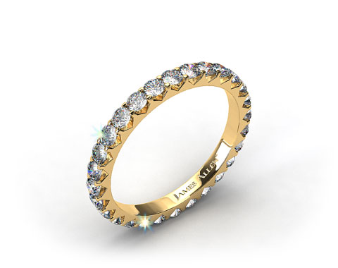 Ladies 1.00ctw* Angled Common Prong Diamond Eternity Ring