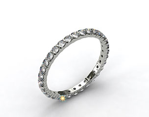 Ladies 0.50ctw* Bar Set Diamond Eternity Ring