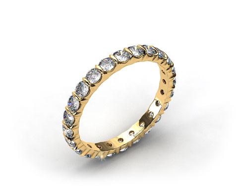 Ladies 1.00ctw* Bar Set Diamond Eternity Ring
