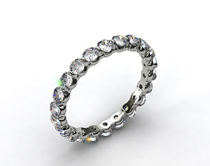 Ladies 1.00ctw* Shared Prong Diamond Eternity Ring