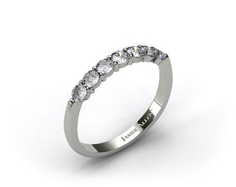 Platinum 0.47ct Common Prong Diamond Wedding Ring