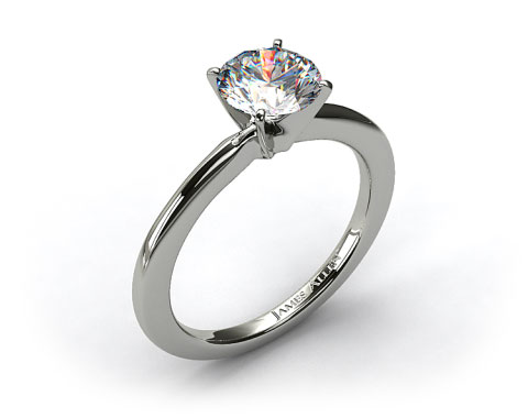 Platinum 1.5mm Comfort Fit Engagement Ring