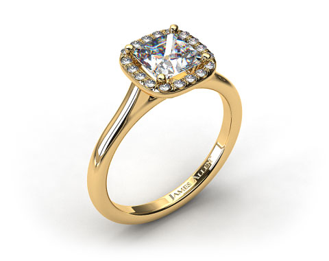 Pictures of Yellow Gold Engagement Rings Design Your Own