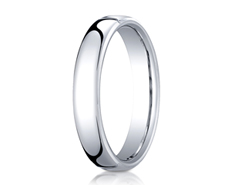 Cobaltchrome 4.5mm European Comfort-Fit™  Design Ring 11558CO