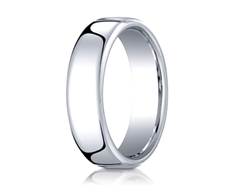 Cobaltchrome 6.5mm European Comfort-Fit™  Design Ring 11559CO