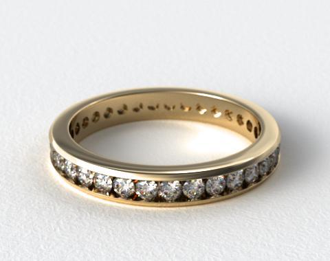 Ladies 1.00ctw* Channel Set Diamond Eternity Ring
