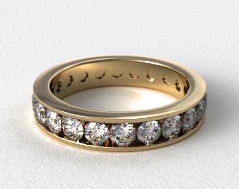 Ladies 1.50ctw* Milgrain Channel Set Diamond Eternity Ring