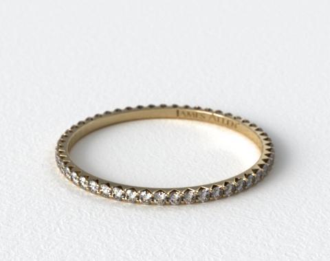 Ladies 0.25ctw* Angled Common Prong Diamond Eternity Ring