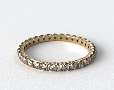 Ladies 0.75ctw* Bar Set Diamond Eternity Ring
