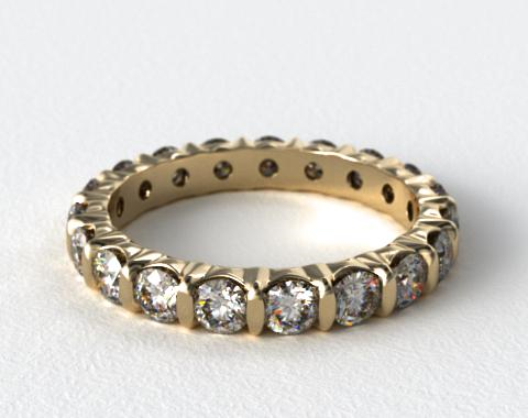 Ladies 2.00ctw* Bar Set Diamond Eternity Ring