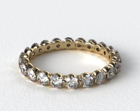 Ladies 1.00ctw* Shared Prong Diamond Eternity Ring
