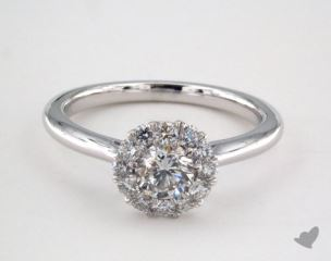 Royal Halo Classic  Engagement Ring